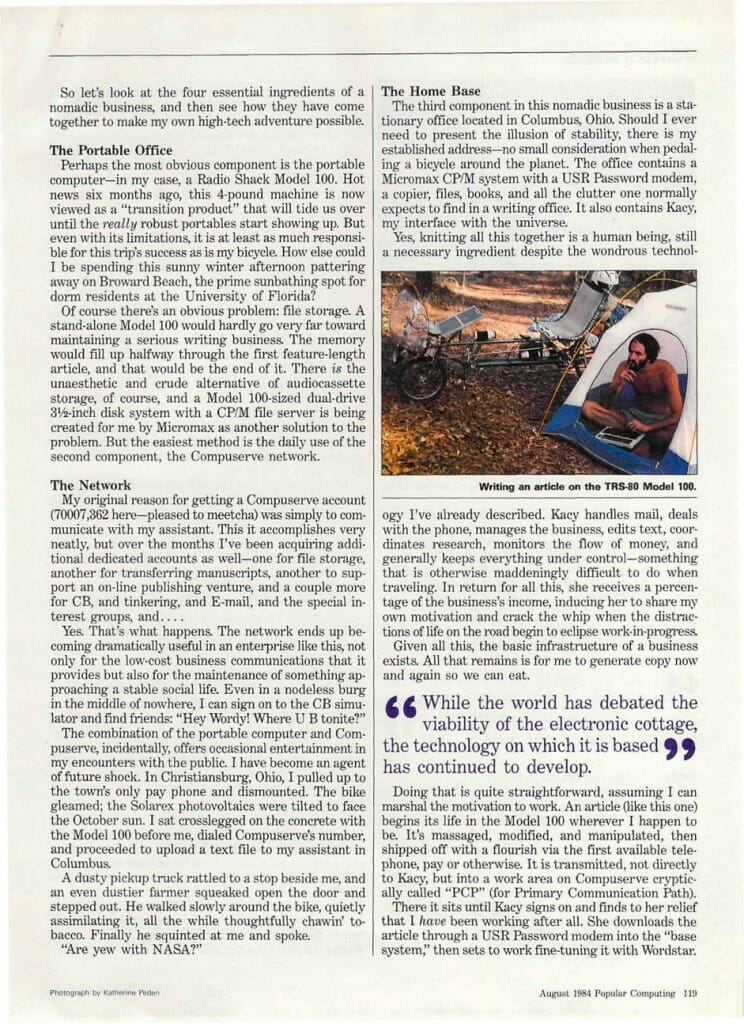 Popular Computing - High-Tech Nomad - page 4