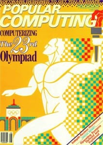 Popular Computing cover, August 1984
