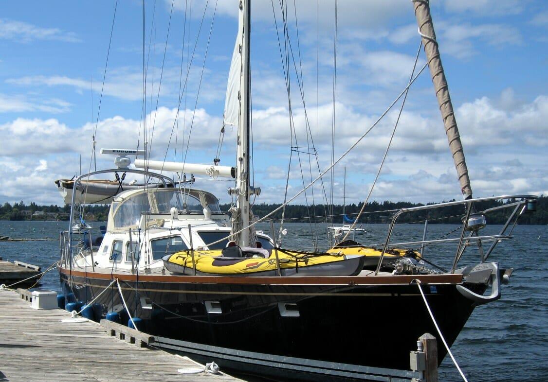 Nomadness in Boston Harbor - Olympia WA