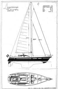 Nomadness sail plan