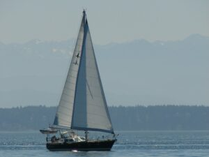 Nomadness under sail