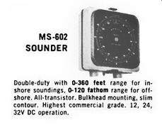 Apelco Sounder ad - 1965