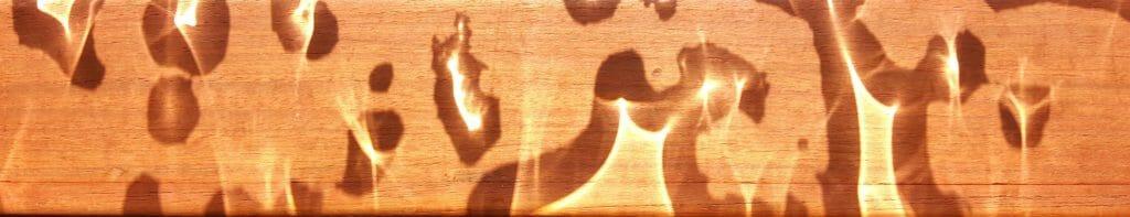 Sunlight through hatch baubles