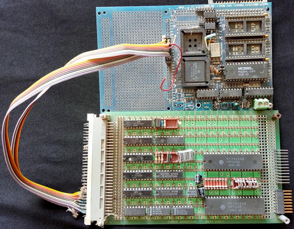 Microship manpack controller