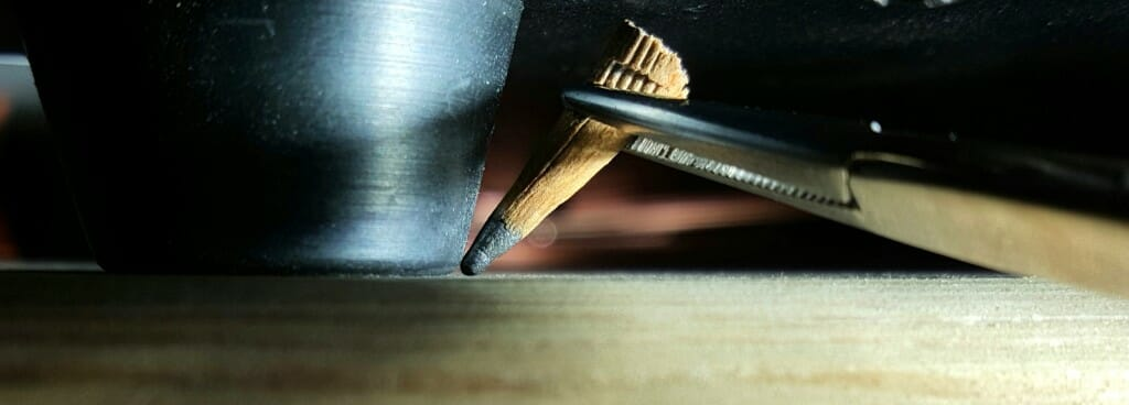 Marking piano feet