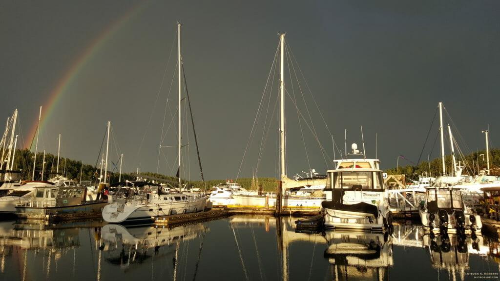 Yet another rainbow - June 23, 2016