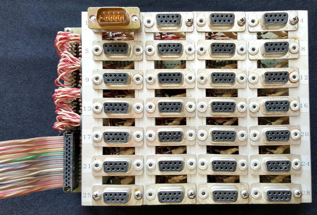 Microship Serial Crossbar