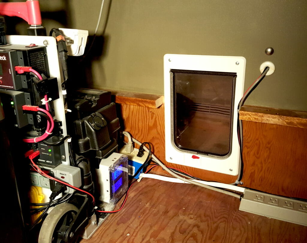 catbox door cabled